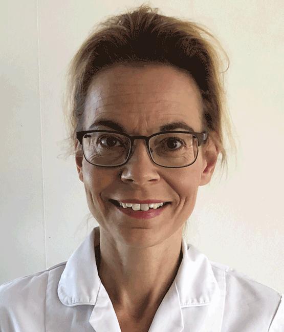 Tandläkare Karin Erkas